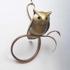 Owl, 2015, Brass and Copper, 8