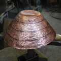 7. Third stage of raising completed. To be annealed again.