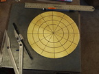 "1. Starting with an 8.5"" disc of 16 gauge annealed brass."